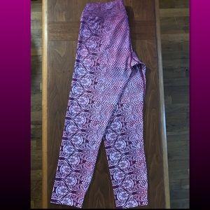 prAna Crop activewear leggings Size M